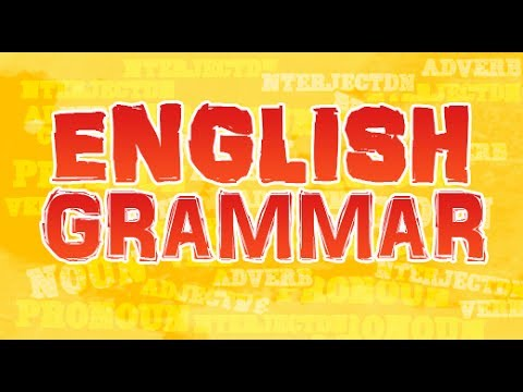 Definition of English Grammar